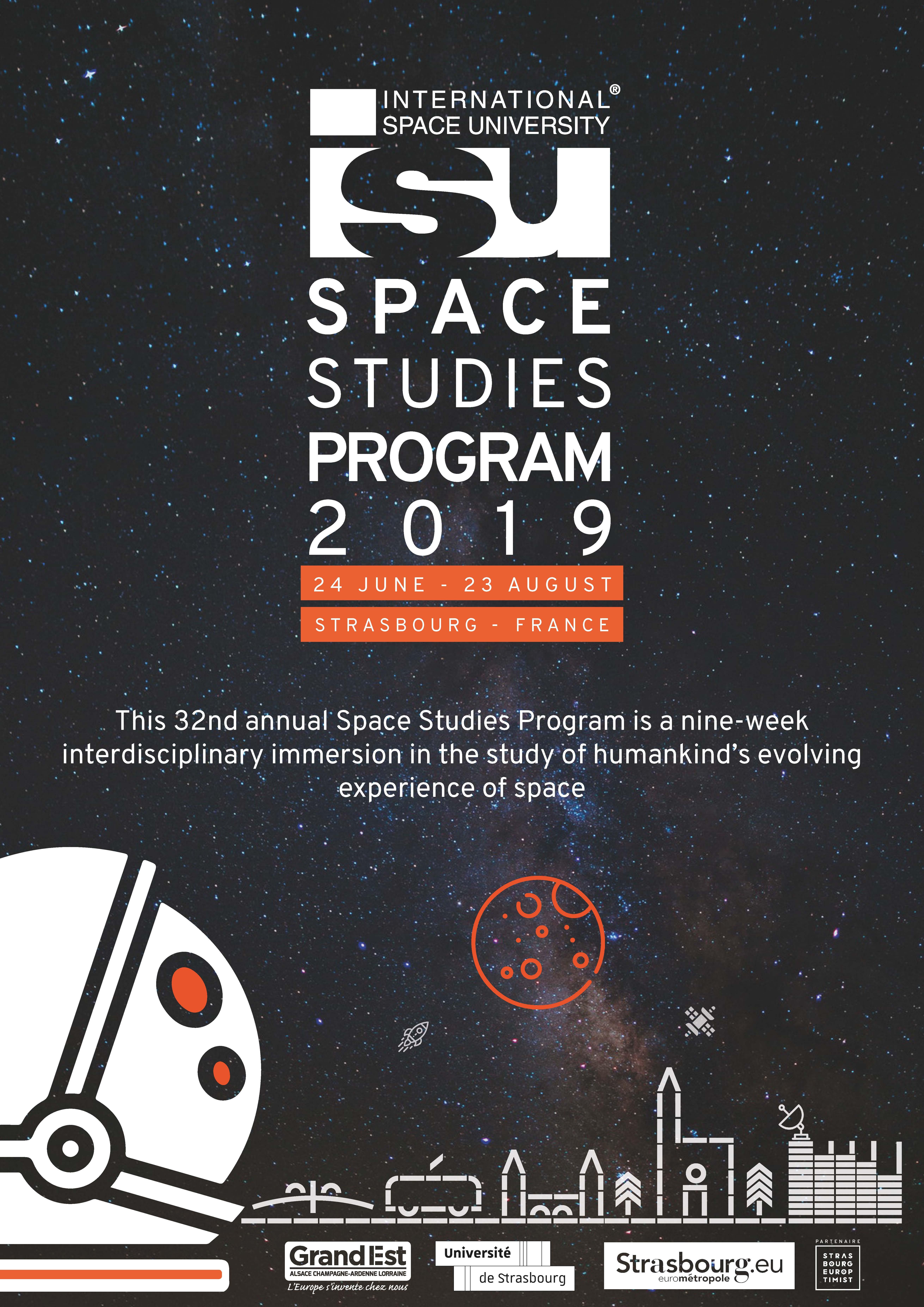 Isu Academic Calendar.Isu Space Studies Program Ssp19